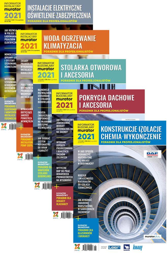 Informator Budowlany-murator 2021 + Informator Instalacyjny-murator 2021 - PDF