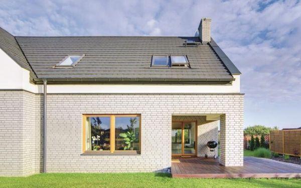Nowoczesny dach bez okapów