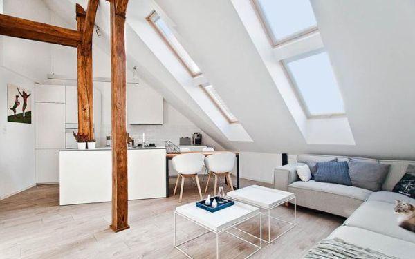 Jasno na poddaszu: rodzaje okien dachowych